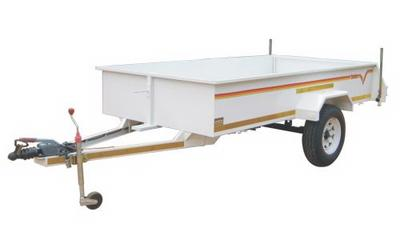 2.4m 1 ton Flatdeck with brakes