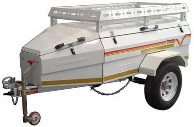 Voyager 14 inch 6 ft with steel roofrack