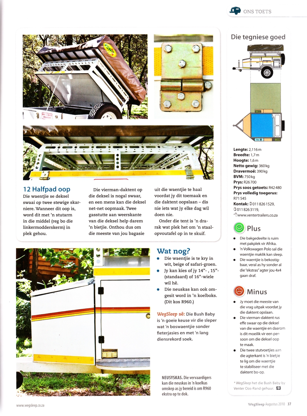 Weg Magazine Review Venter Trailer Wiring Diagram South Africa And The Summary Observations
