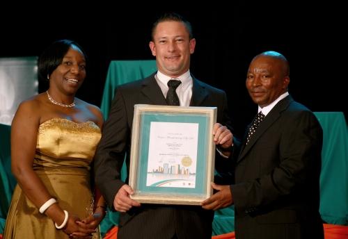 Venter Receives A Rocci Award