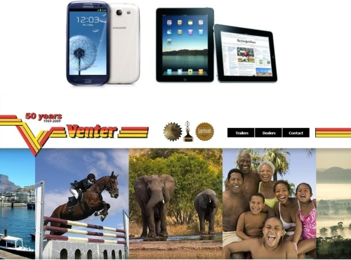 Venter Goes Mobile